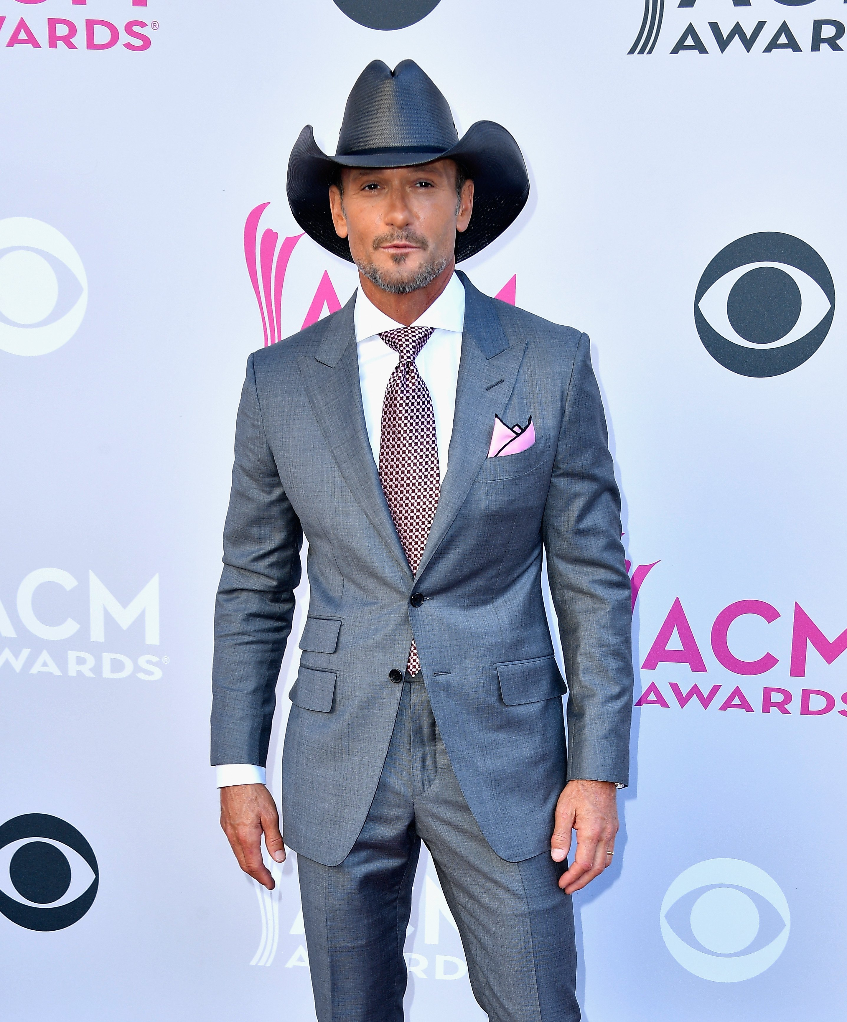 Tim McGraw attends the 52nd Academy Of Country Music Awards in 2017. | Source: Getty Images
