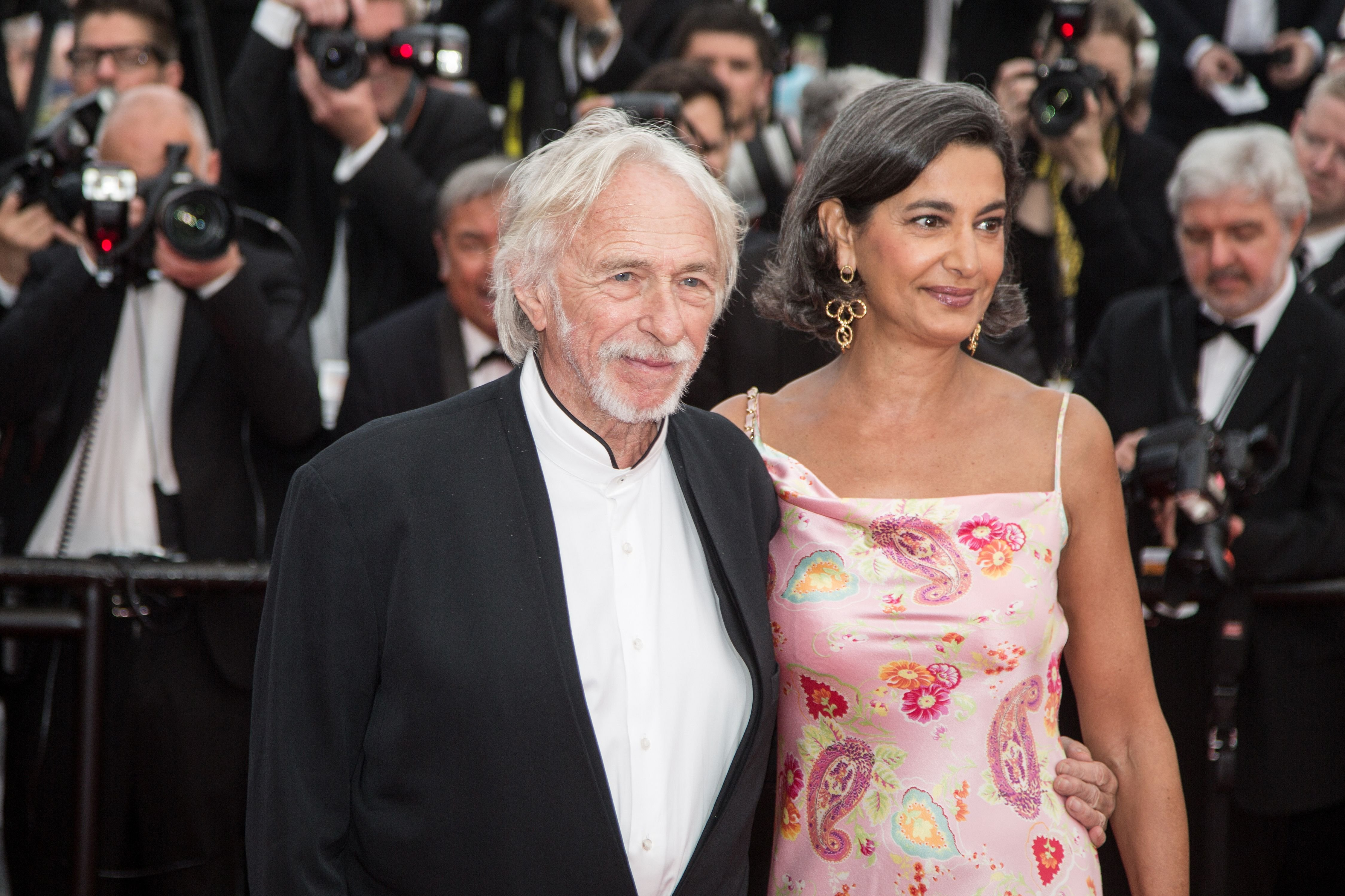 L'acteur français Pierre Richard et Ceyla Lacerda. | Photo : shutterstock