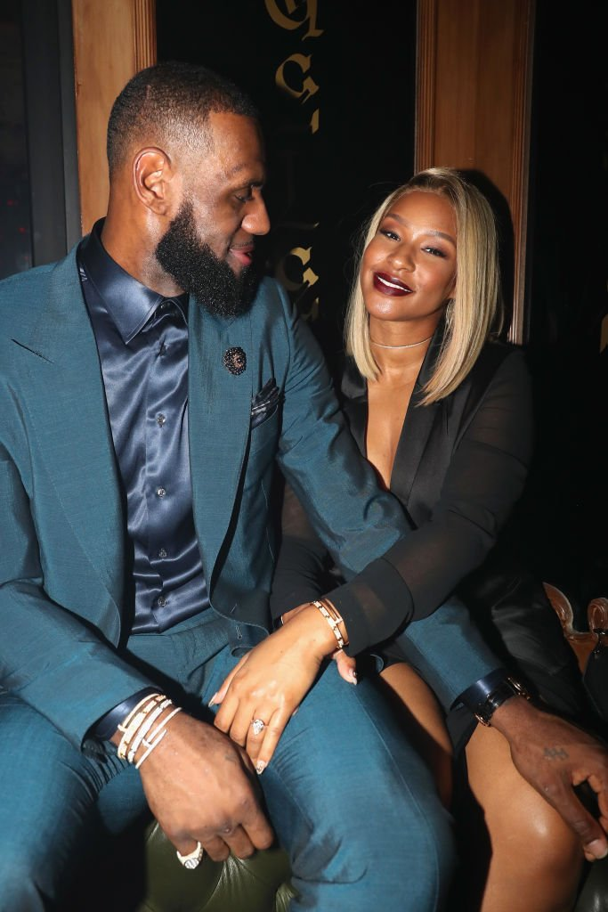 LeBron James and Savannah Brinson attend as Remy Martin presents Beats Party, February 2018| Photo: Getty Images