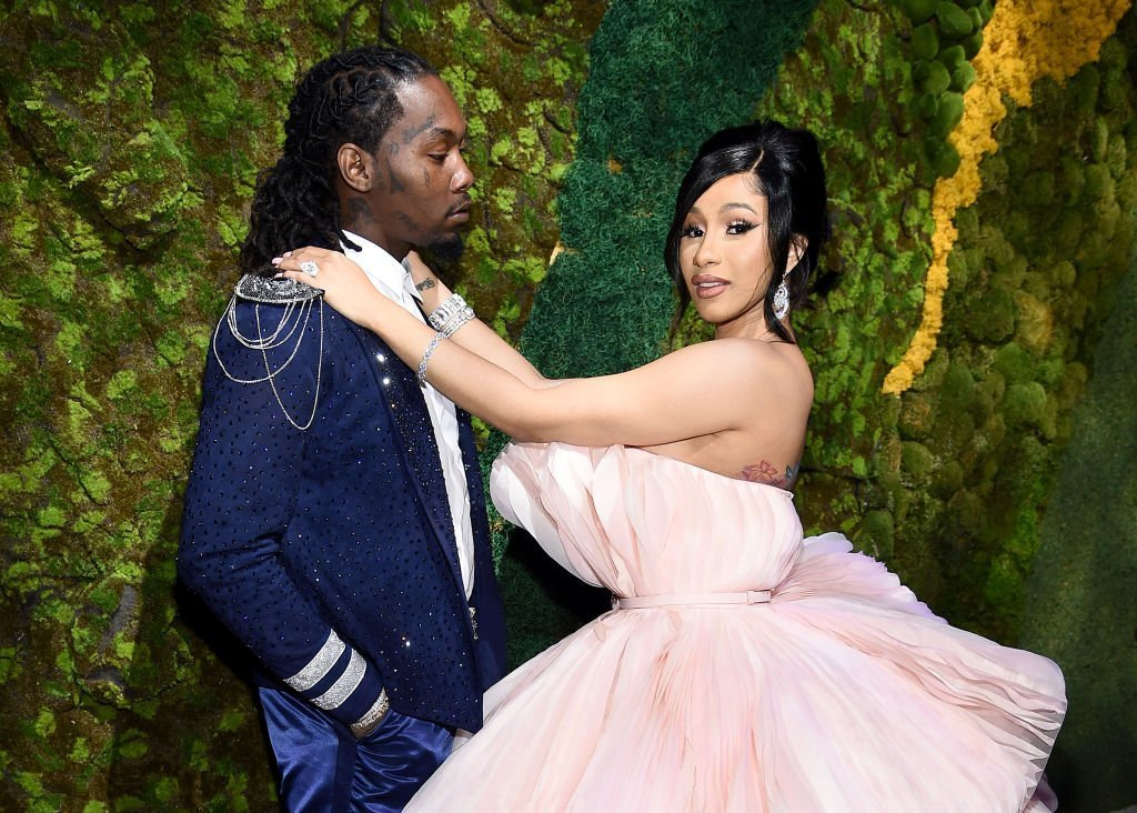Offset (L) and Cardi B attend Rihanna's 5th Annual Diamond Ball Benefitting The Clara Lionel Foundation at Cipriani Wall Street | Photo: Getty Images