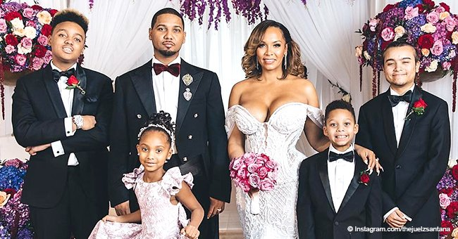 'Love & Hip-Hop' stars Juelz Santana and Kimbella tie the knot after 10 years together