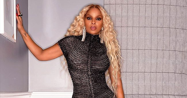 Mary J Blige Flaunts Curves in Tight Beaded Dress as She Celebrates Diddy's 50th Birthday