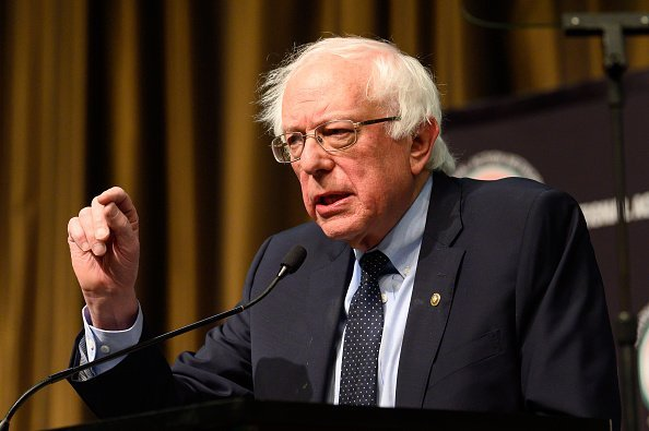 U.S. Senator Bernie Sanders at the National Action Network National convention in New York City | Photo: Getty Images