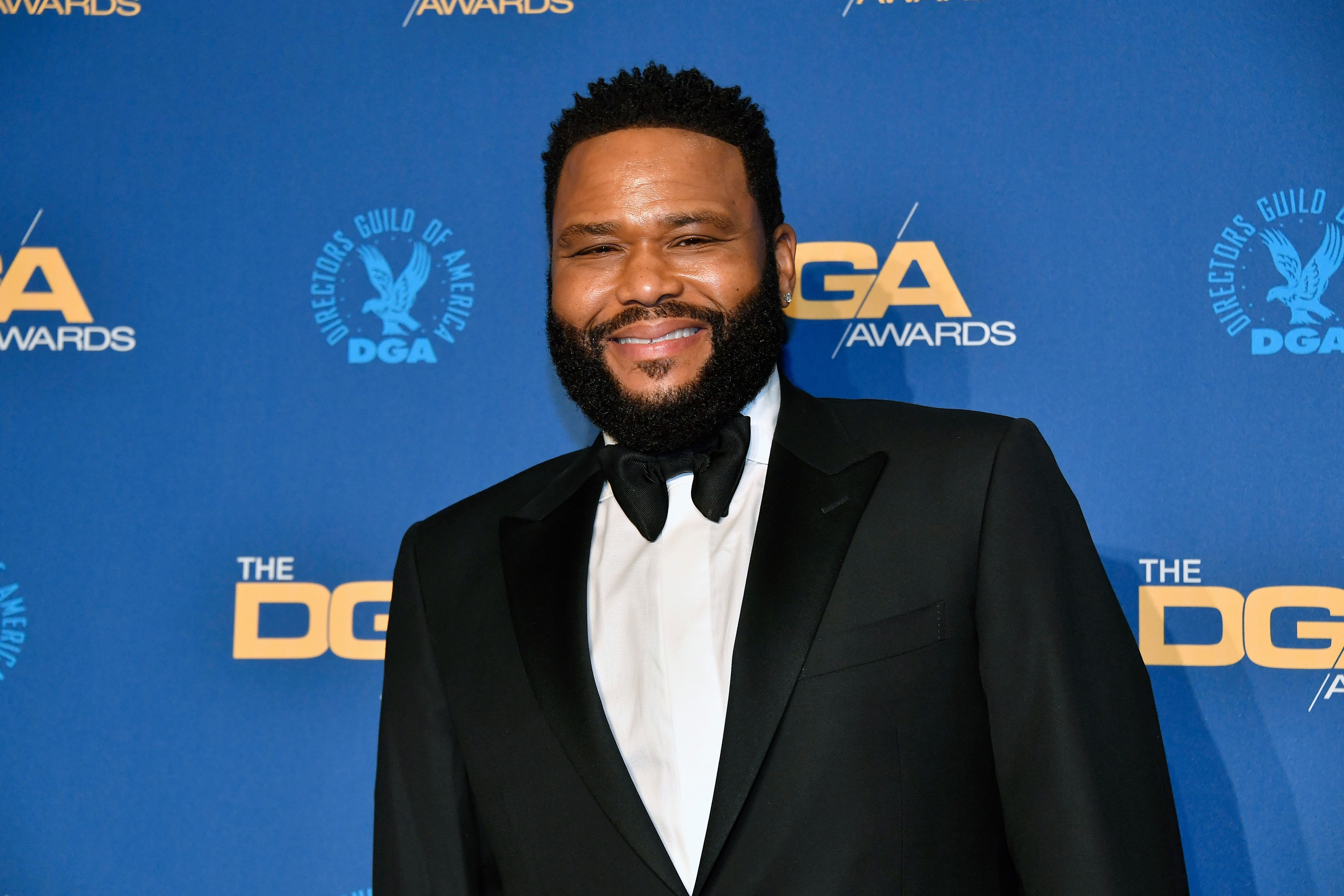 Anthony Anderson poses in the press room at the 72nd Annual Directors Guild of America Awards at The Ritz Carlton on January 25, 2020   Photo: Getty Images