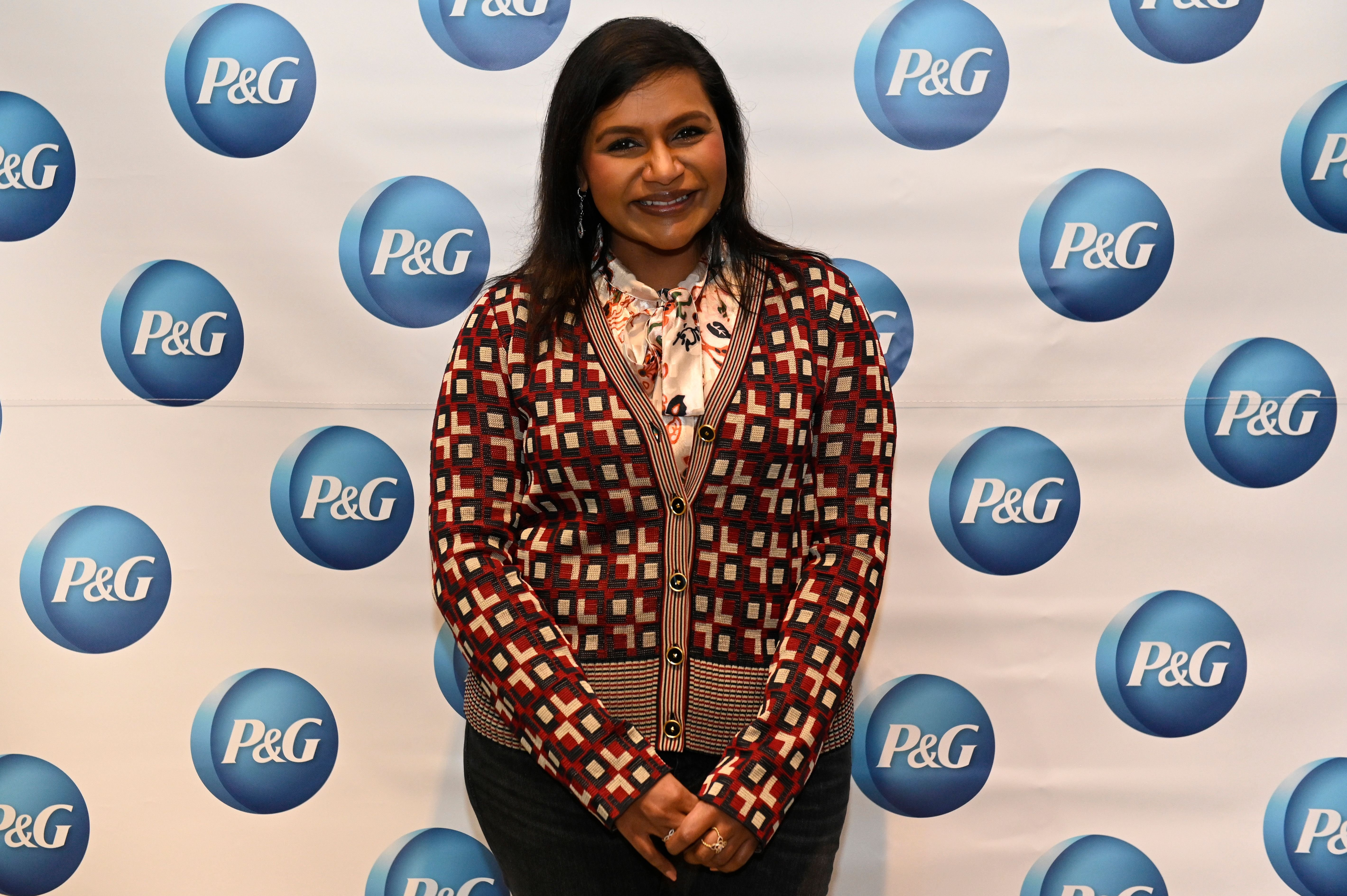 Mindy Kaling at the P&G #WeSeeEqual Forum held at Proctor & Gamble on March 04, 2020, in Cincinnati, Ohio | Photo: Duane Prokop/Getty Images