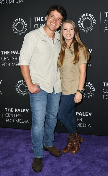 "Chandler Powell, Bindi Irwin, The Paley Center For Media Presents: An Evening With The Irwins: ""Crikey! It's The Irwins"" Screening And Conversation, 2019 