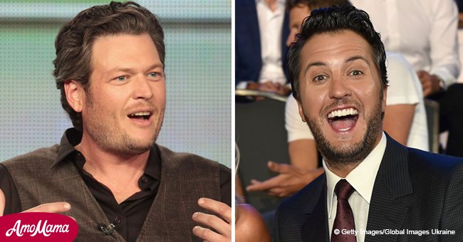 Blake Shelton bashes Luke Bryan for jokingly urging him to marry Gwen Stefani