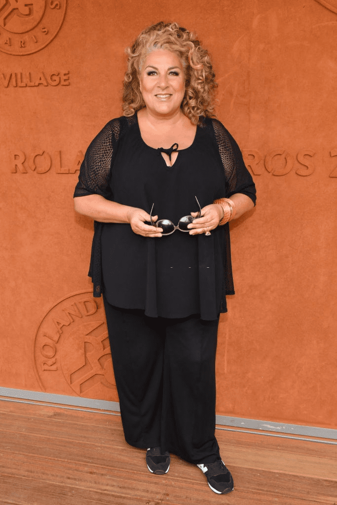 La chanteuse Marianne James assiste à la finale féminine de Roland Garros 2018 - Quatorzième journée à Paris, France, le 9 juin 2018. | Photo : Getty Images