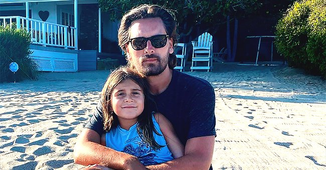 Scott Disick Spends Time with His Kids by the Beach in Cute New Photos