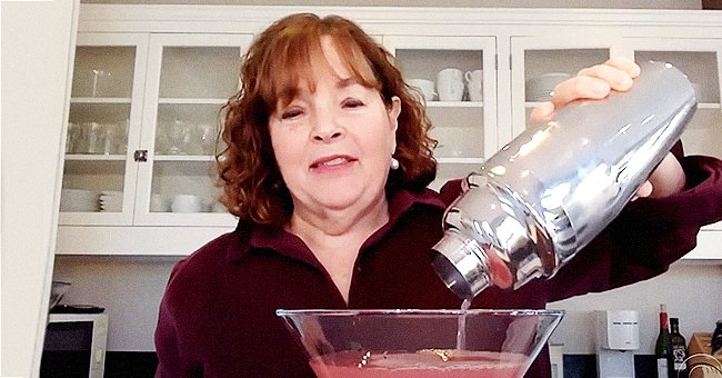 Ina Garten Shares Giant Cocktail with Her Husband Jeffrey Amid Self-Isolation