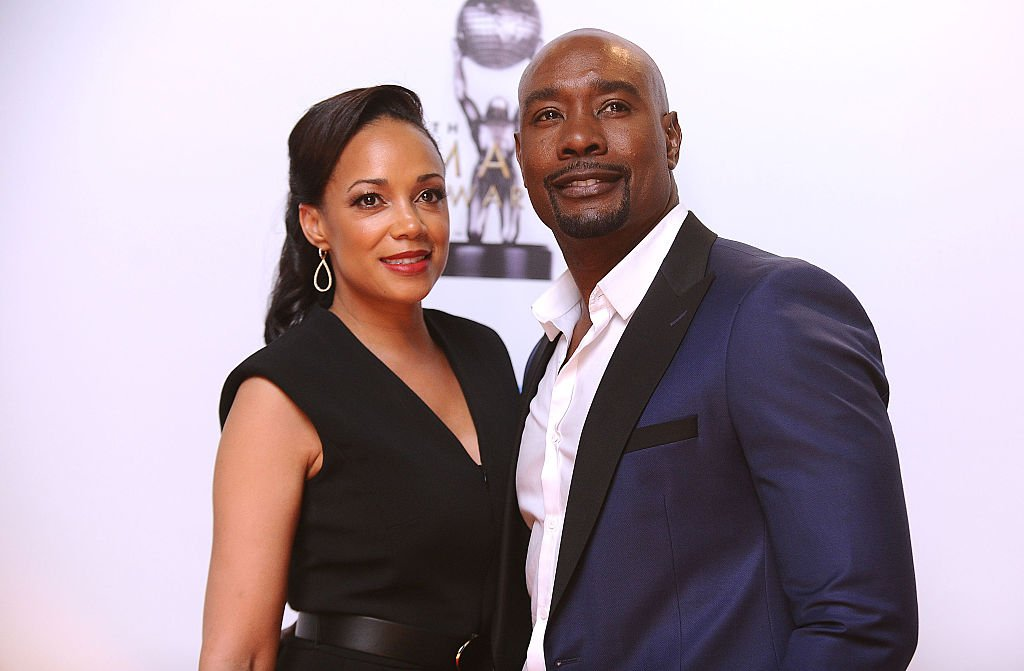 Morris Chestnut and wife Pam Byse attend the 47th NAACP Image Awards at Pasadena Civic Auditorium on February 5, 2016. | Photo: Getty Images