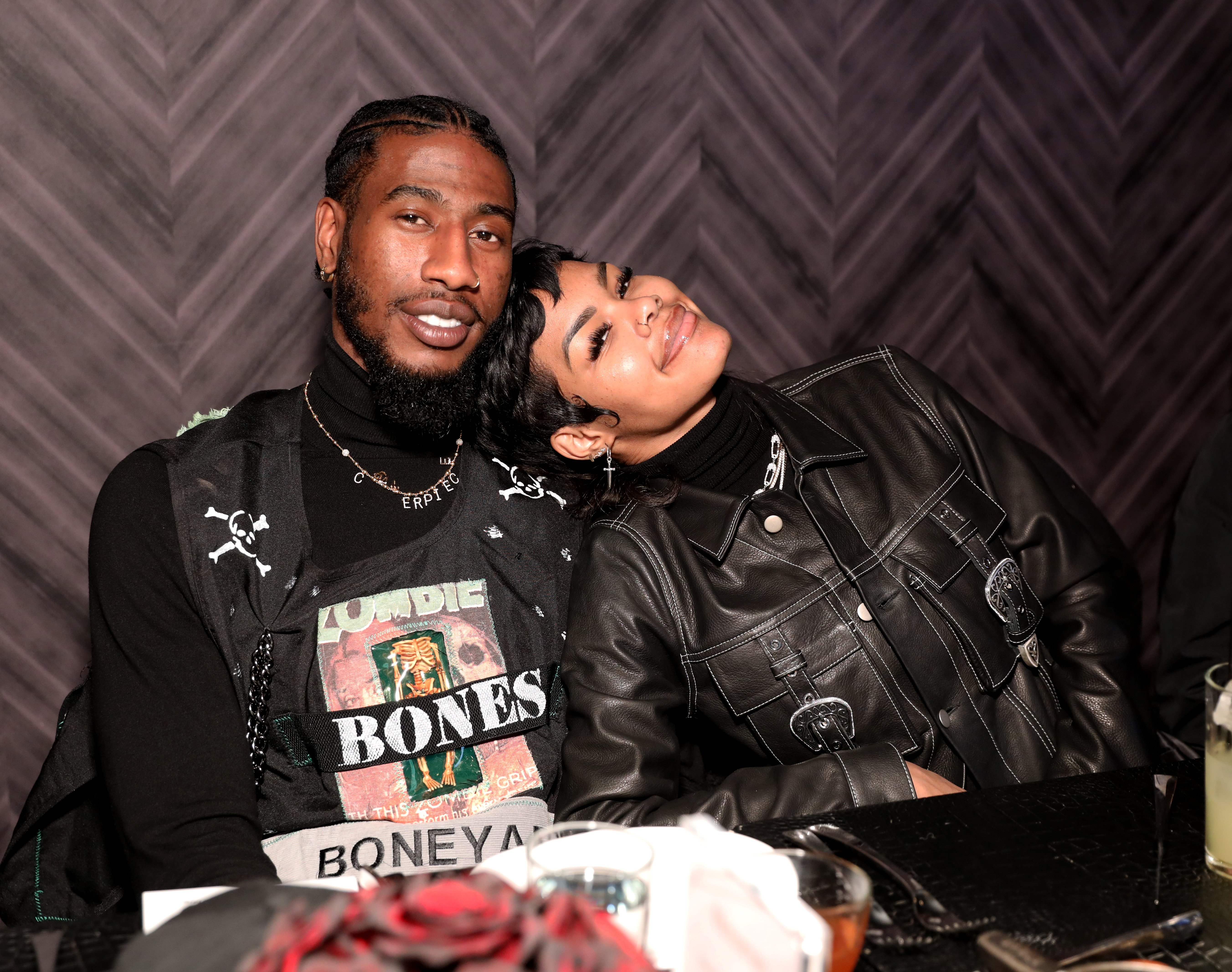 Iman Shumpert and Teyana Taylor at an NBA All-Star Dinner at STK Chicago on February 14, 2020 in Chicago, Illinois. | Source: Getty Images