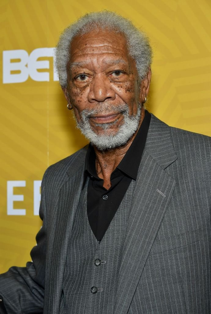 Morgan Freeman backstage during the American Black Film Festival Honors Awards Ceremony at The Beverly Hilton Hotel on February 23, 2020 | Photo: Getty Images