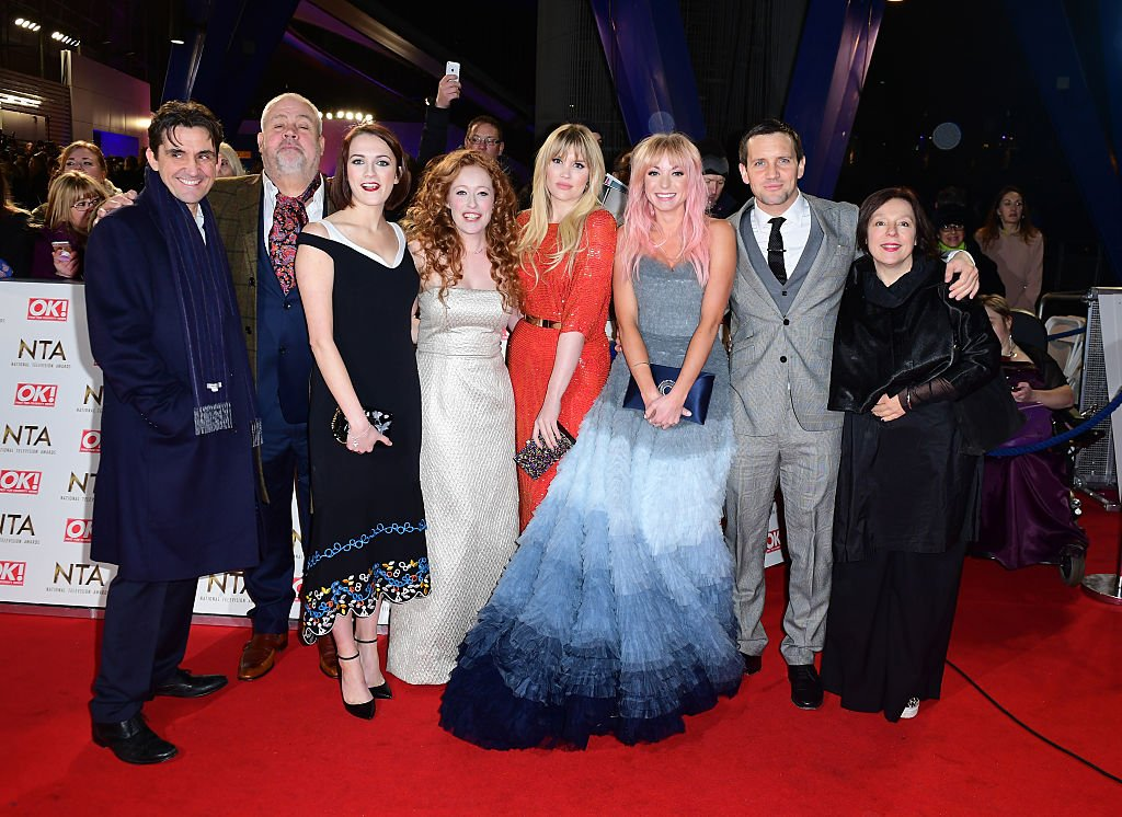 """Helen George and the cast of """"Call The Midwife"""" at the National Television Awards 2017 
