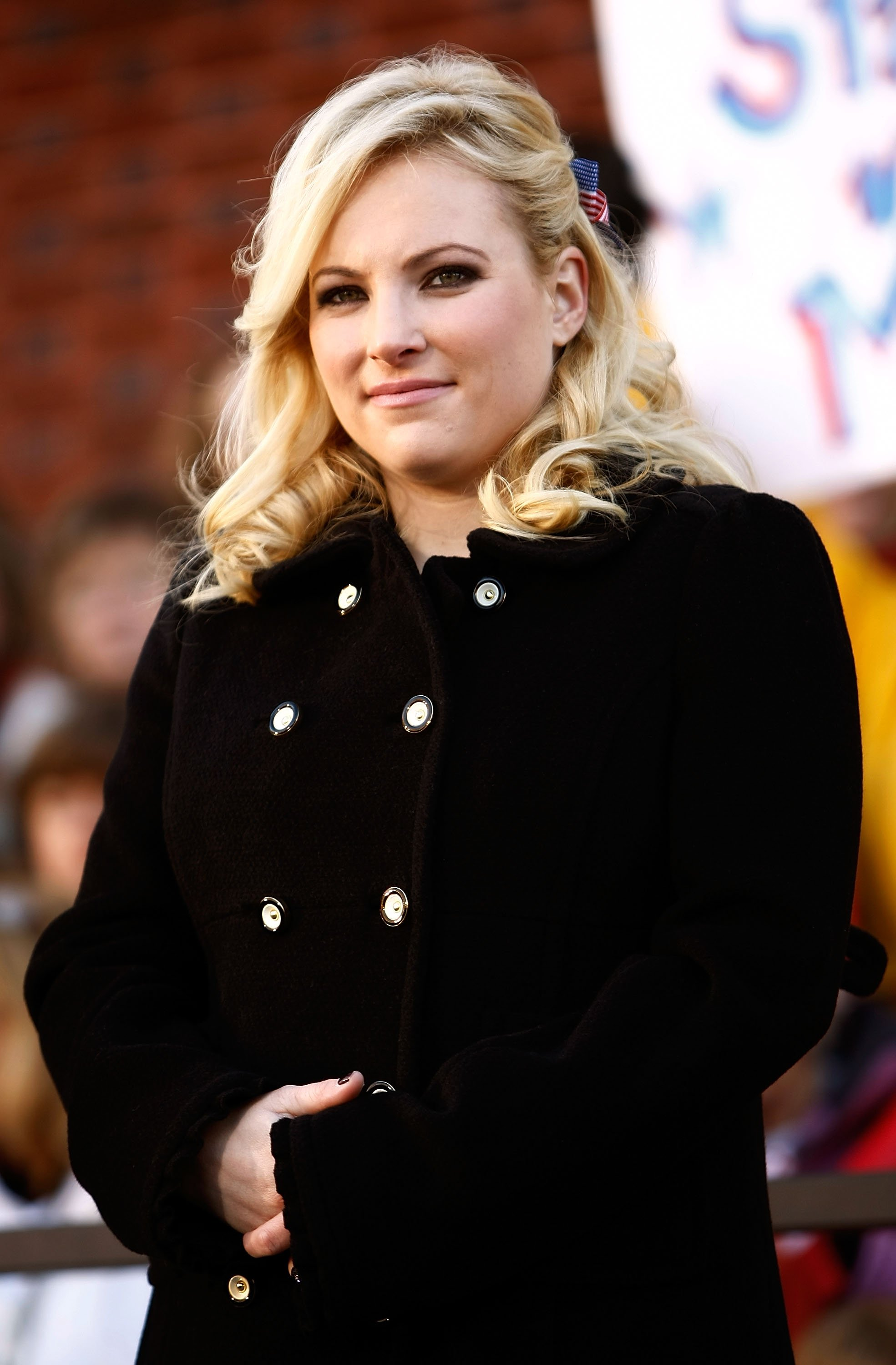 Meghan McCain attends a campaign rally at Defiance Junior High School in Ohio on October 30, 2008 | Photo: Getty Images