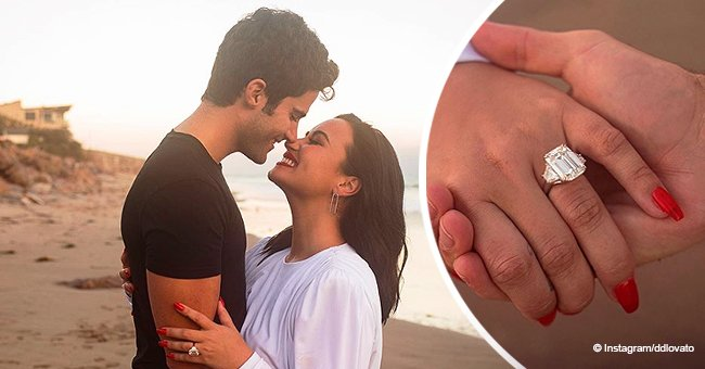 Demi Lovato Is Engaged to Max Ehrich – Take a Look at Her Huge Engagement Ring