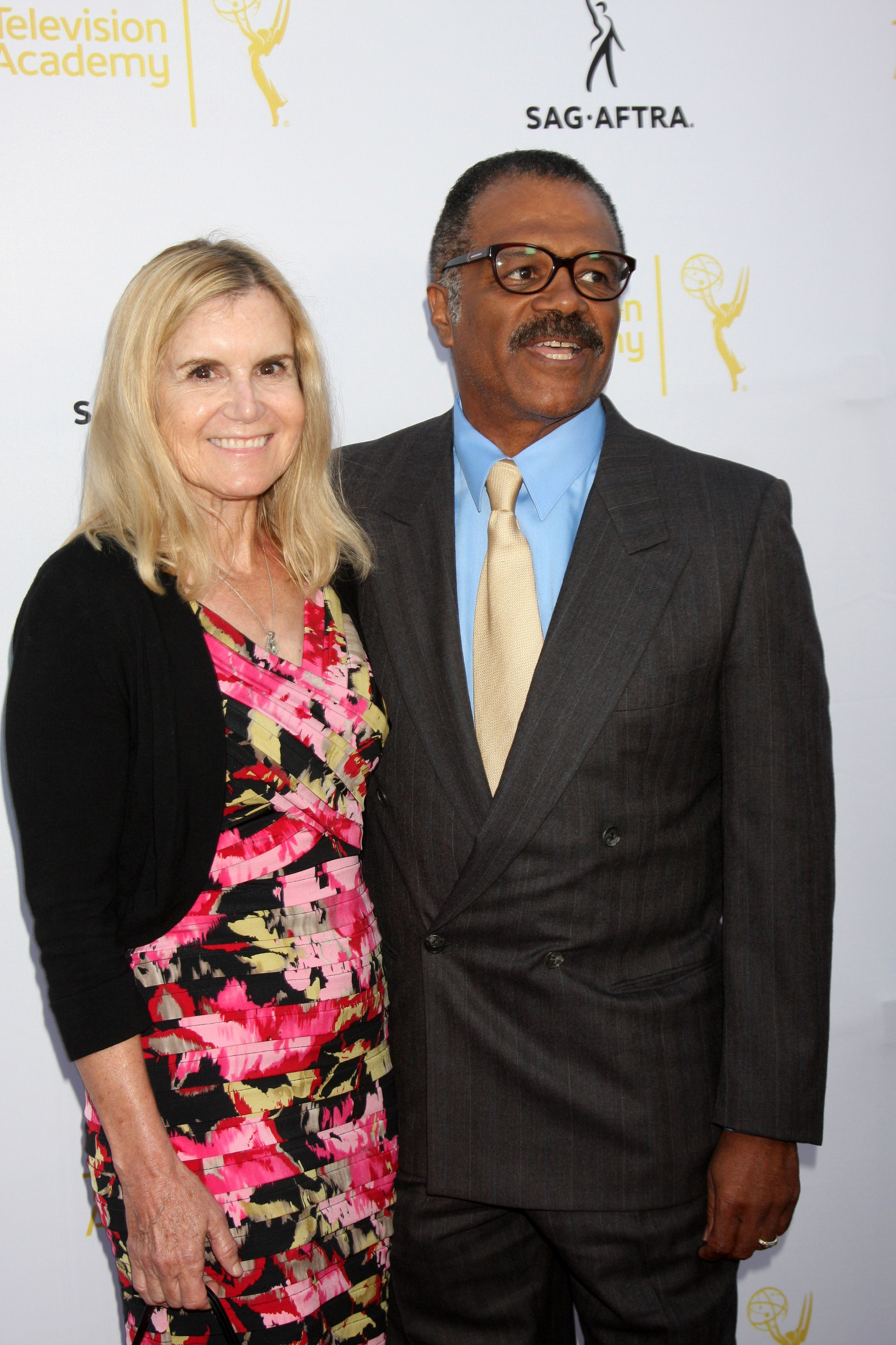 Mary Ley and Ted Lange at the Dynamic & Diverse: A 66th Emmy Awards Celebration of Diversity Event. | Source: Shutterstock