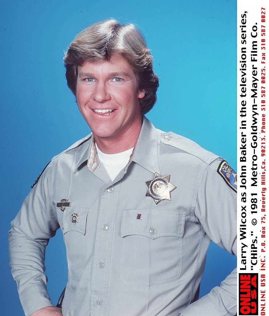 Larry Wilcox as Officer Jon Baker. | Source: Getty Images