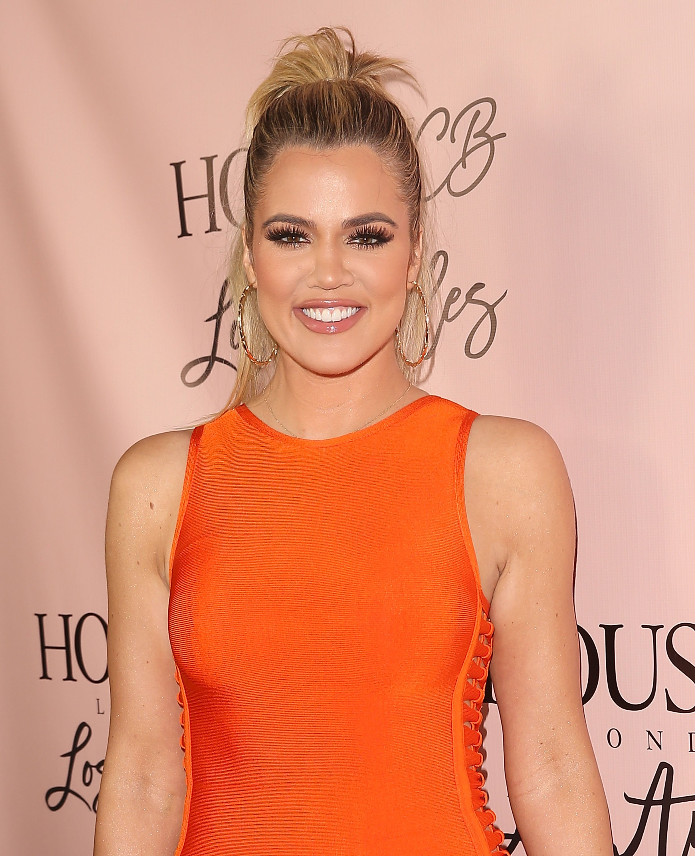 Khloé Kardashian at the House of CB flagship store launch in 2016. | Photo: Getty Images