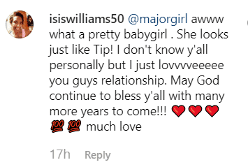 Screenshot of fan comment | Photo: Instagram/majorgirl