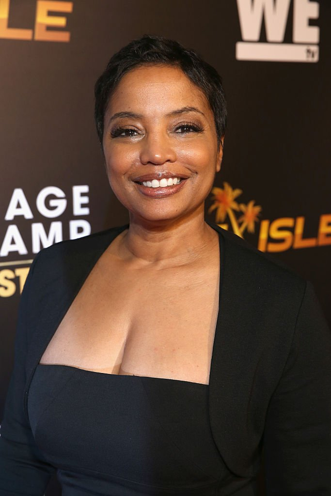 """Lawyer Lynn Toler attends the WE tv premiere of """"Marriage Boot Camp"""" Reality Stars and """"Ex-isled"""" on November 19, 2015 