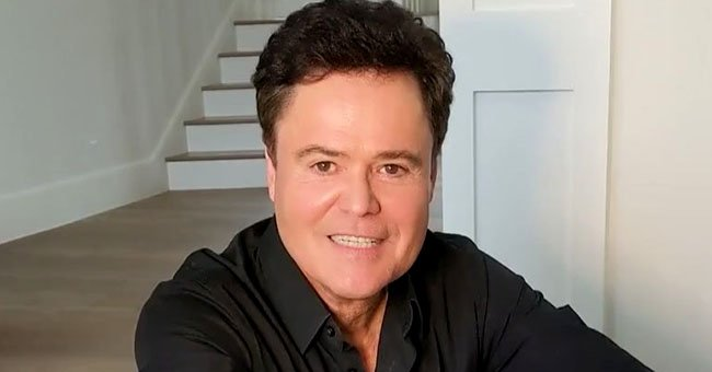 See a Throwback of Donny Osmond Holding the First Picture He Ever Saw of Himself on a Poster