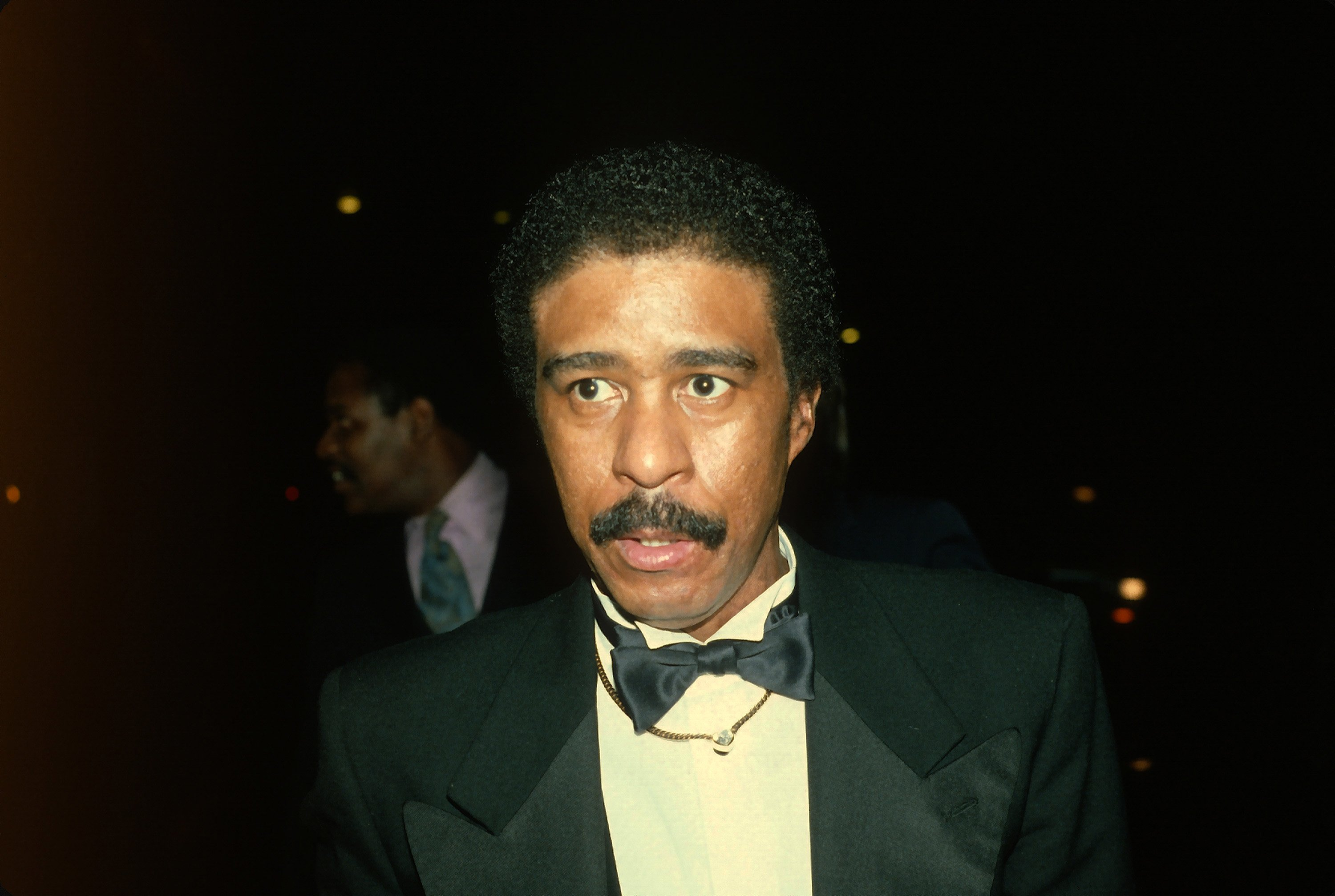 Richard Pryor is photographed at 'Night of 100 Stars' event in New York City March 8, 1982. | Photo: Getty Images