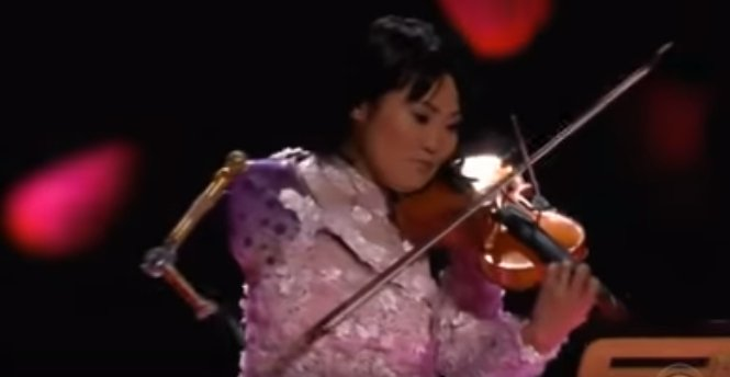 """Manami Ito of Japan plays on CBS's """"The World's Best"""" 2019 