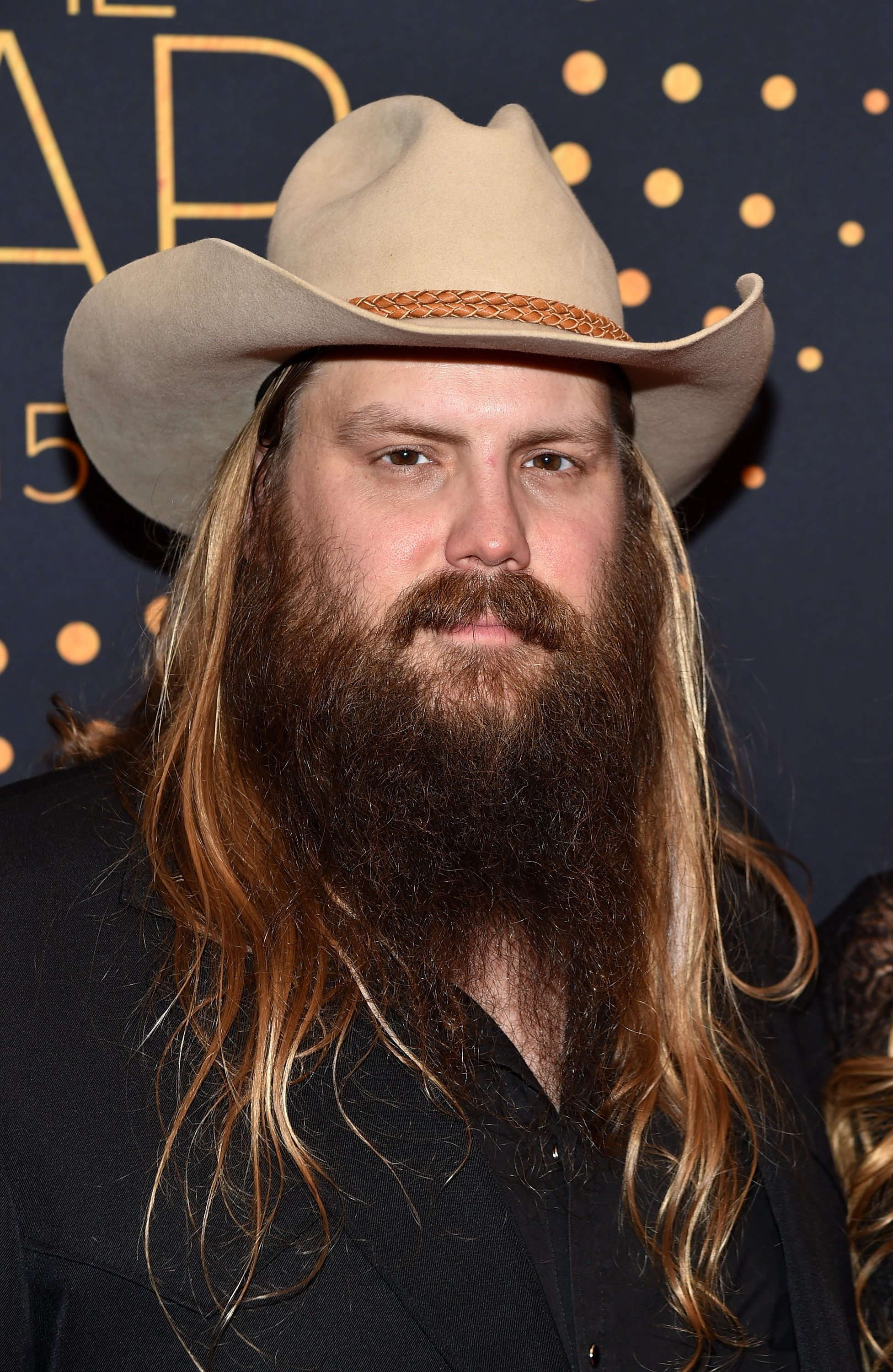 Chris Stapleton attends the 2015 CMT Artists of the Year in Nashville, Tennesee on December 2, 2015 | Photo: Getty Images