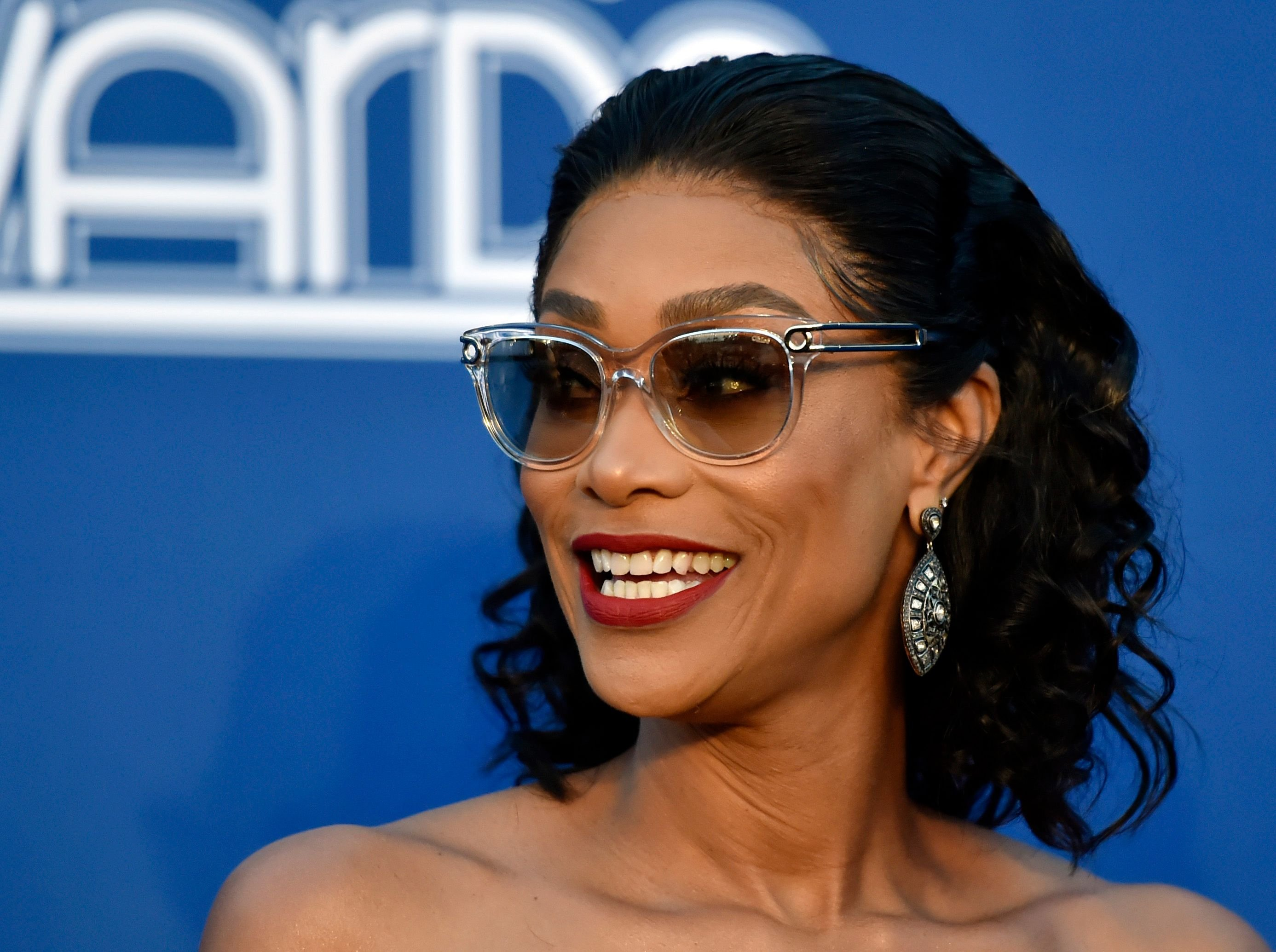 Tami Roman attends the 2018 Soul Train Awards at the Orleans Arena on November 17, 2018 in Las Vegas, Nevada.   Source: Getty Images