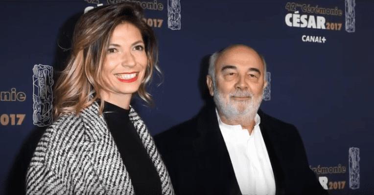 Patricia Campi et Gérard Jugnot à la cérémonie des César 2017. | Youtube/Daily News