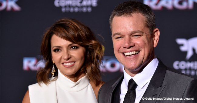 Matt Damon and Luciana Barroso Have 4 Beautiful Daughters - Meet All of Them
