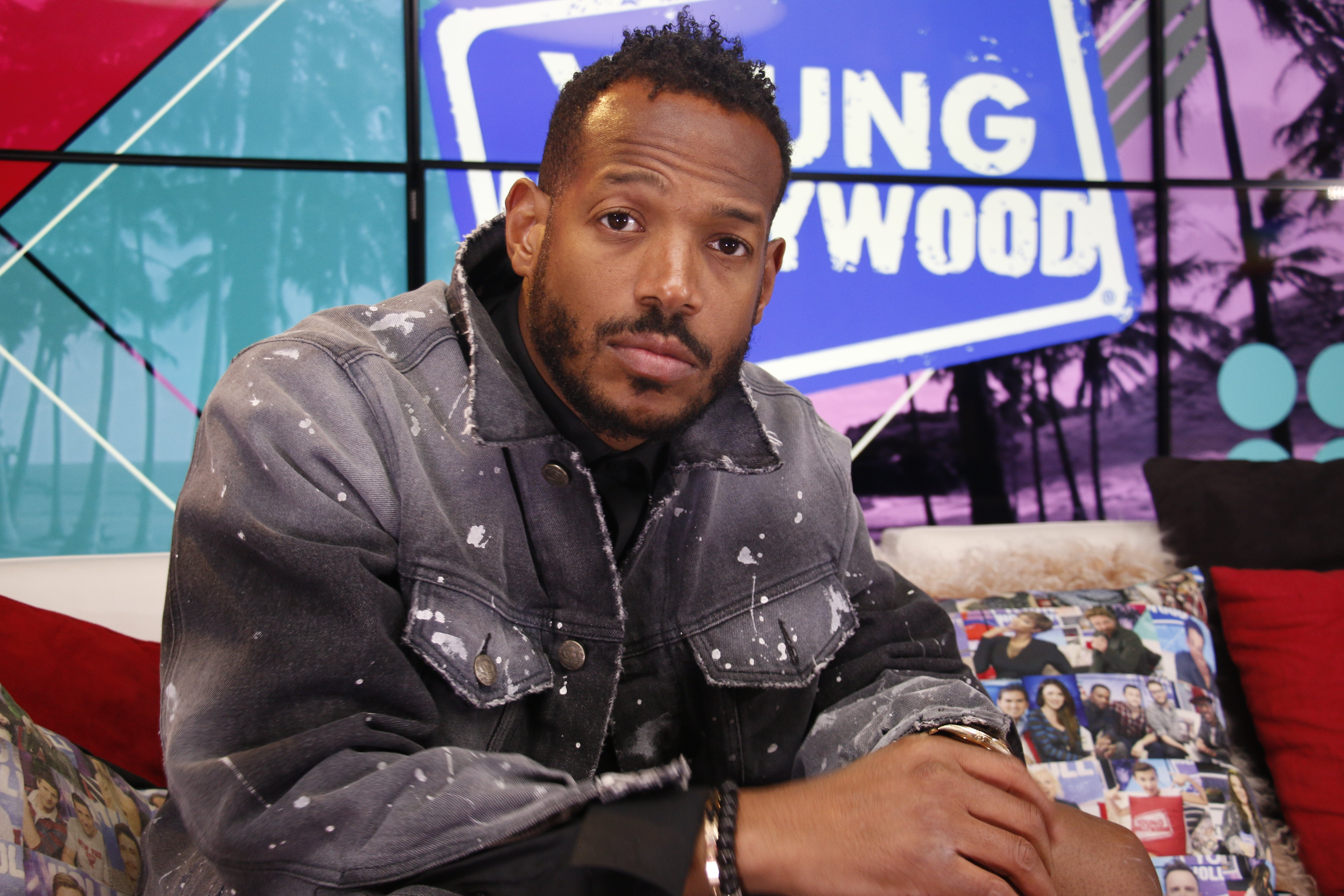 Marlon Wayans visits the Young Hollywood Studio on June 19, 2018 in California   Photo: Getty Images