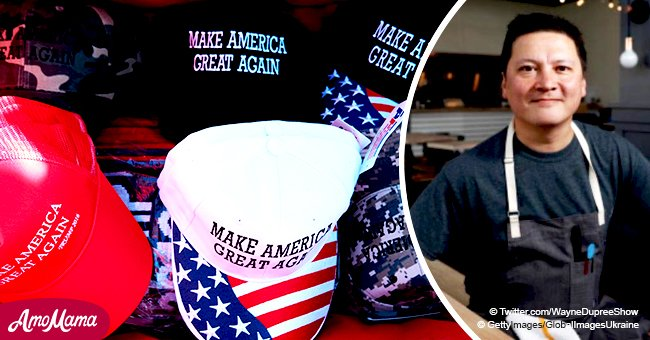 Restaurant owner refuses to serve customers who wear MAGA hats