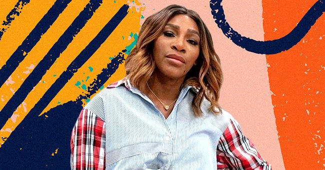 Serena Williams Grabs Attention with Her Huge Afro & Stunning Glow while Wearing Cleavage-Baring Pink Outfit