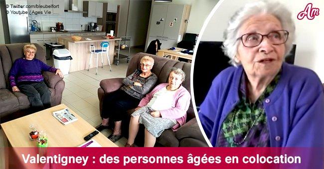 Des personnes âgées en colocation - une alternative aux maisons de retraite à Valentigney
