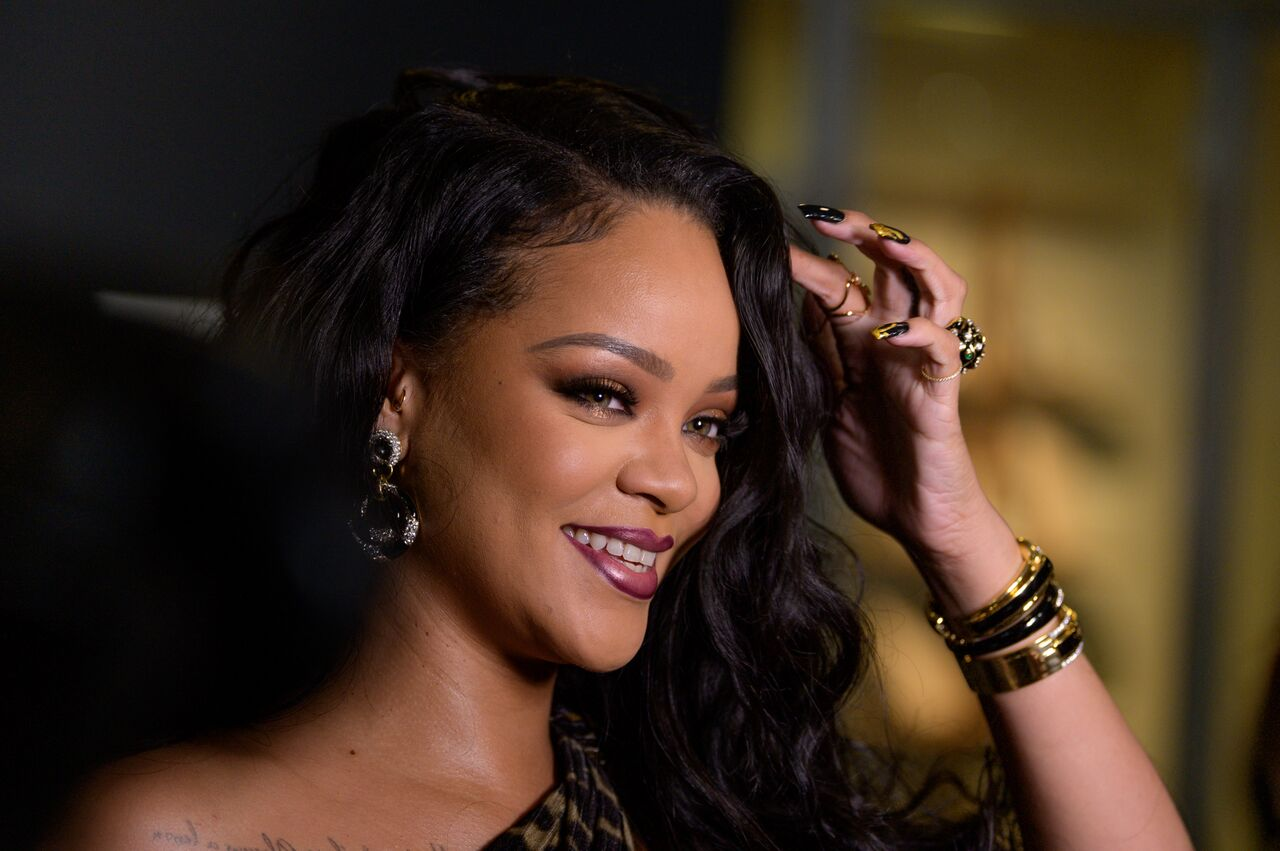 Rihanna at her book launch at the Guggenheim Museum/ Source: Getty Images