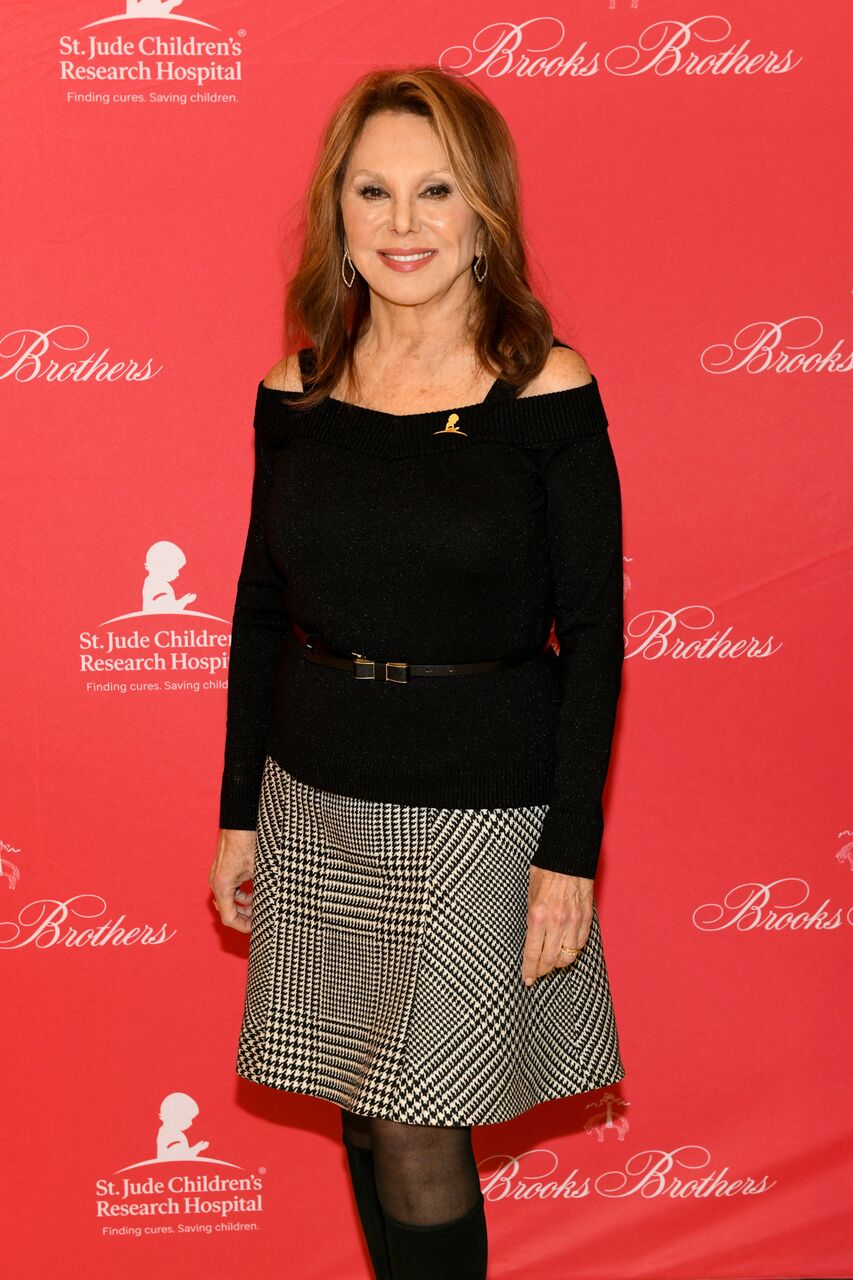 Marlo Thomas attends the Brooks Brothers And St Jude Children's Research Hospital Annual Holiday Celebration. | Source: Getty Images