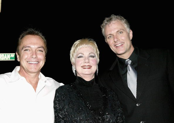 Actor David Cassidy, actress Shirley Jones and actor Patrick Cassidy arrive at the 49th annual Drama Desk Awards at the La Guardia Concert Hall in Lincoln Center May 16, 2004, in New York City. | Source: Getty Images.