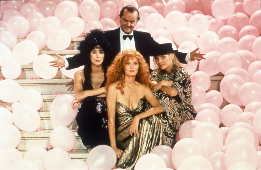 Las Brujas de Eastwick, EE.UU. 1987. | Foto: Getty Images