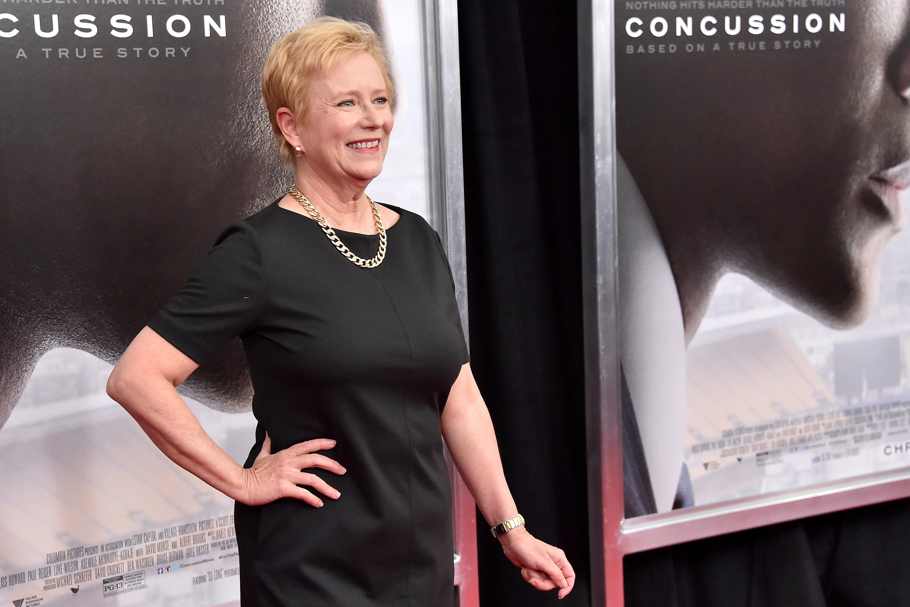 "Eve Plumb attends the ""Concussion"" New York Premiere at AMC Loews Lincoln Square on December 16, 2015 