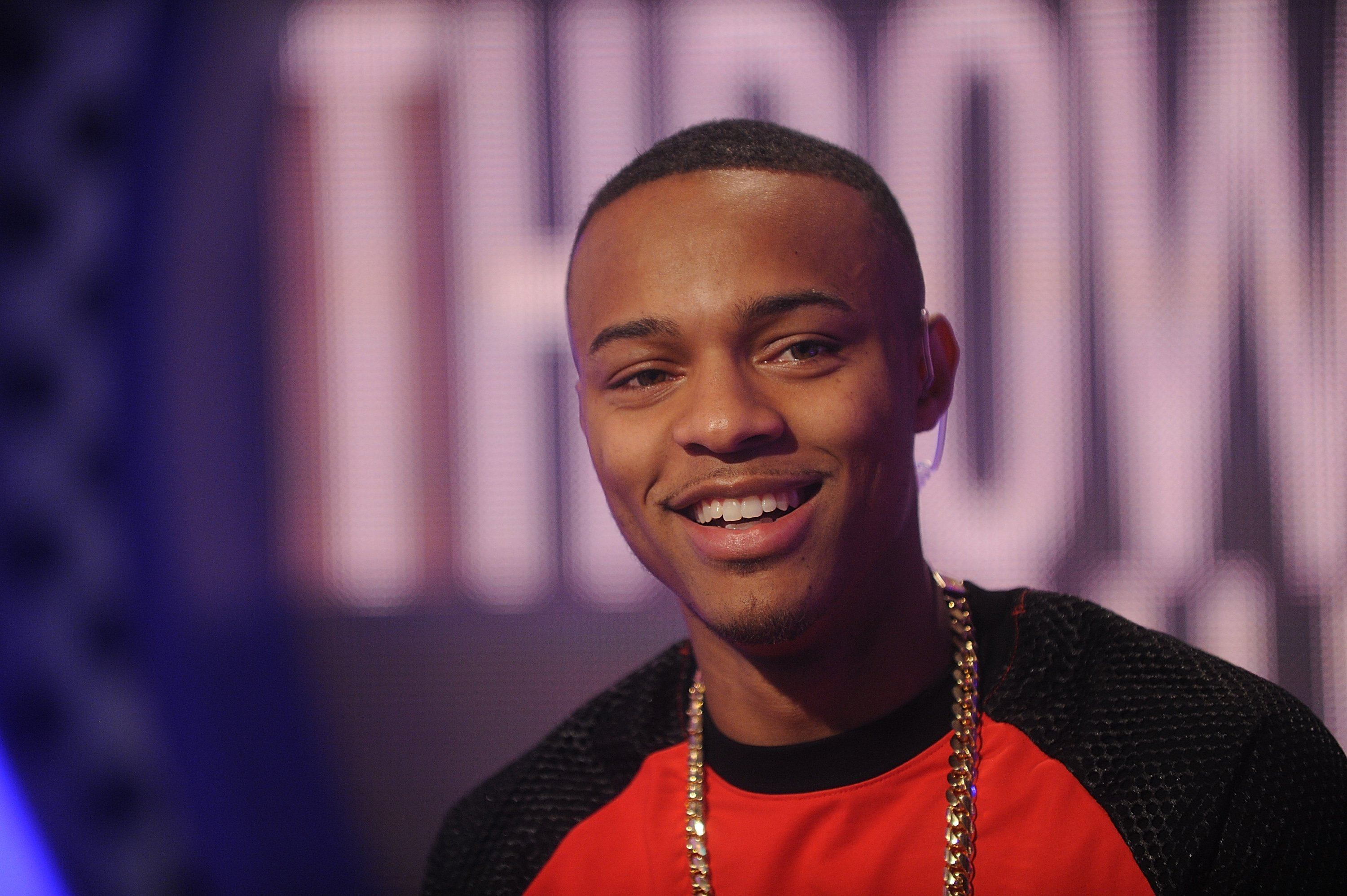 Bow Wow visits the BET 106 and Park studio on June 11, 2014.   Photo: Getty Images