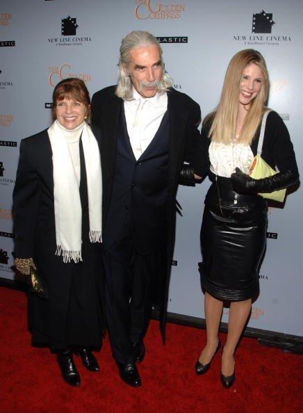 Sam Elliott, Katherine Ross et Cleo Rose au Ziegfeld Theatre le 2 décembre 2007 à New York. | Photo : Getty Images