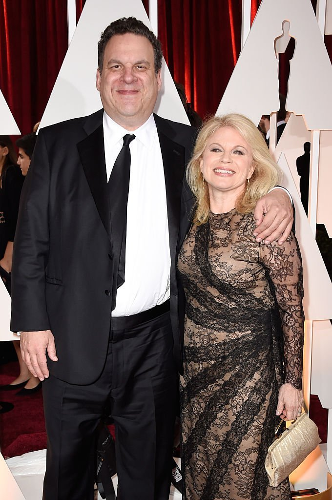 Jeff Garlin and his wife Marla Garlin attend the 87th Annual Academy Awards at Hollywood & Highland Center | Getty Images