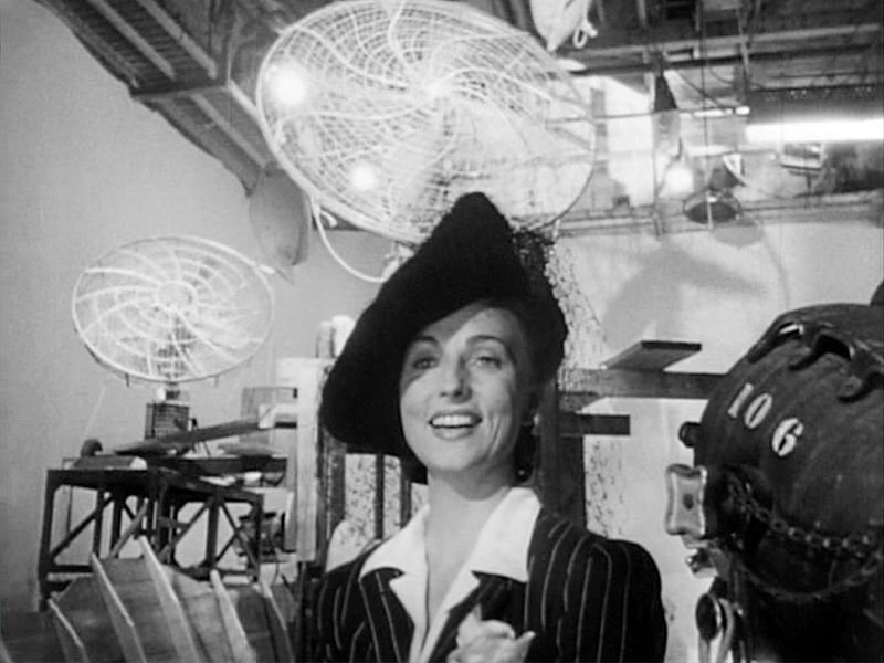 "Agnes Moorehead from the ""Citizen Kane"" trailer. 