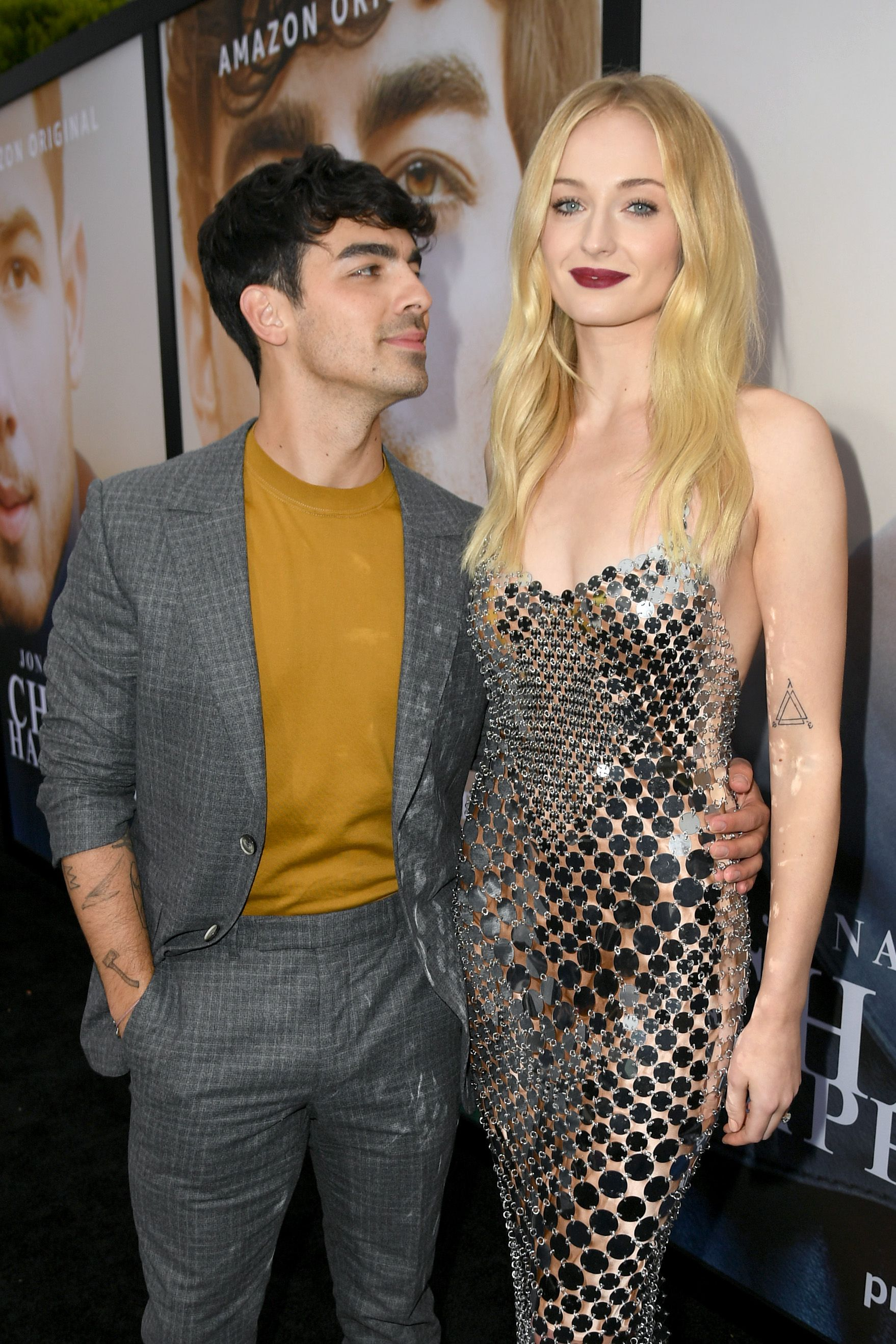 Joe Jonas and Sophie Turner during the Premiere of Amazon Prime Video's 'Chasing Happiness' at Regency Bruin Theatre on June 03, 2019 in Los Angeles, California. | Source: Getty Images