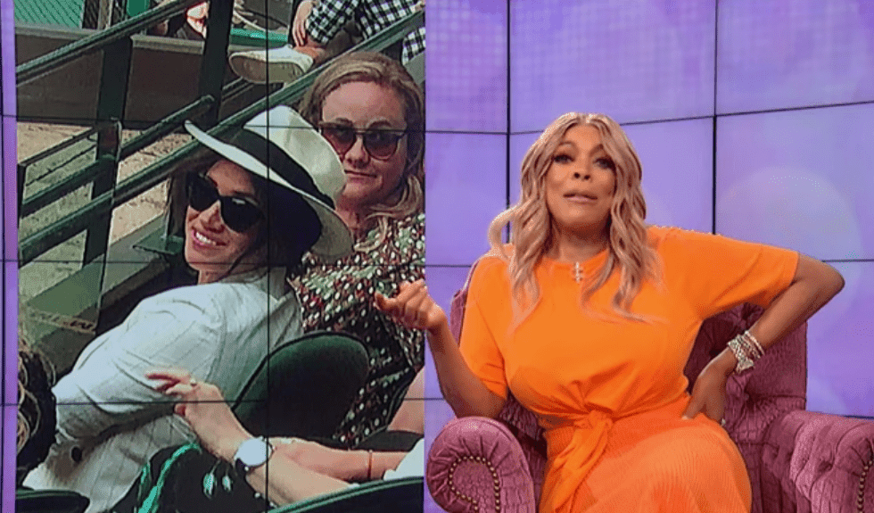 Wendy Williams reveals Meghan Markle's snapshot. I Image: YouTube/ The Wendy Williams Show.