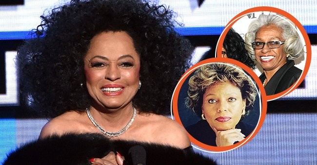Photo collage of Diana Ross and her sisters Rita Ross and Dr. Barbara Ross-Lee   Source: Getty Images