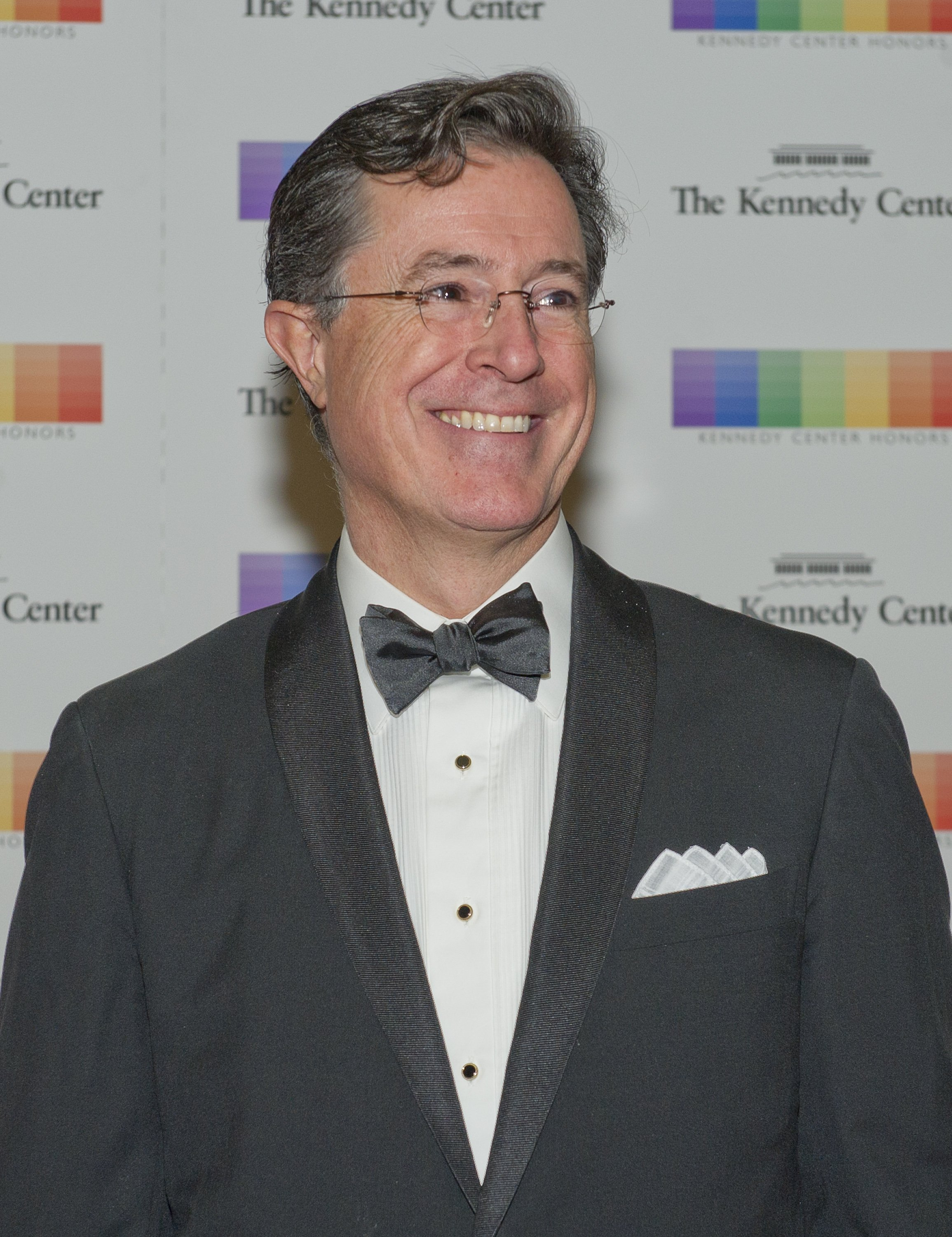 Stephen Colbert at the 38th Annual Kennedy Center Honors at the U.S. Department of State in Washington, D.C. on December 5, 2015 | Photo: GettyImages