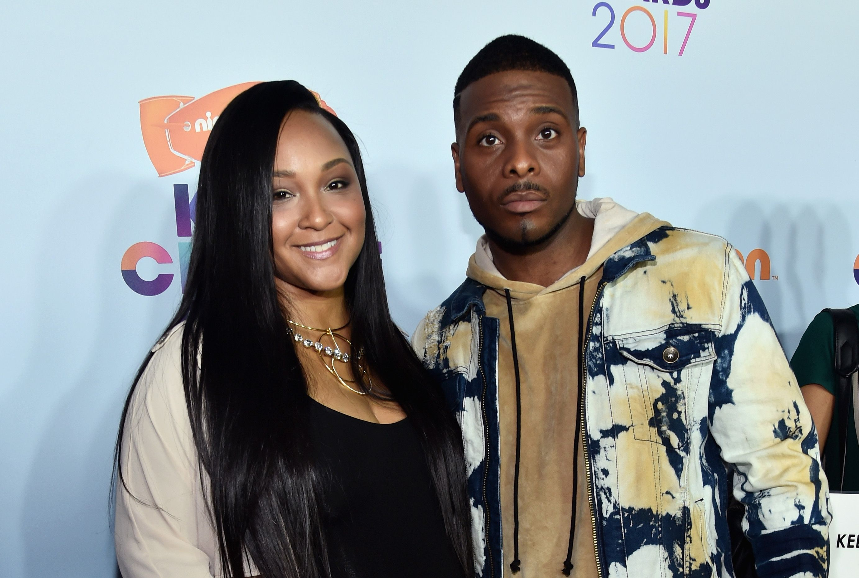 Asia Lee and Kel Mitchell at Nickelodeon's 2017 Kids' Choice Awards at USC Galen Center on March 11, 2017.   Source: Getty Images
